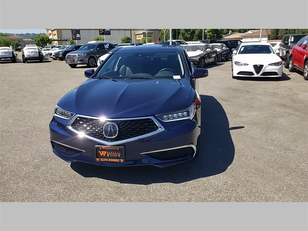 Pre-Owned 2018 Acura TLX 3.5L V6